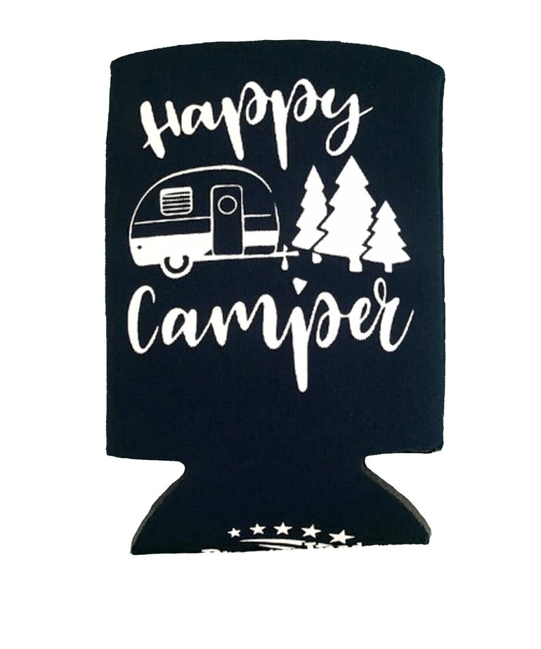 Camping Can Koozie
