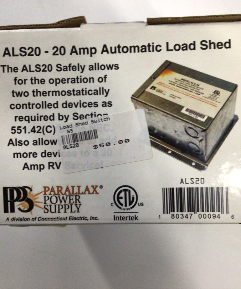 Load Shed Switch ALS20