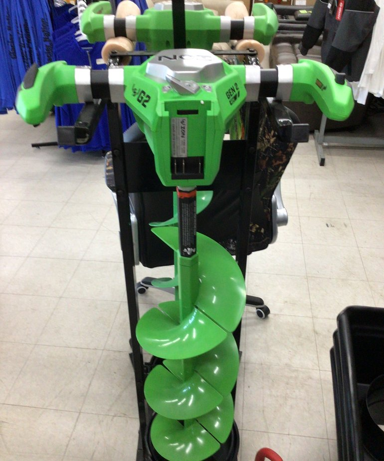 """ION G2 10"""" Ice Auger"""