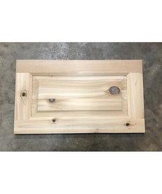 """11""""x19"""" Cedar Cabinet Door"""