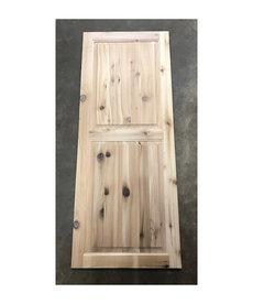 """18 3/4"""" x 47"""" Cedar Cabinet Door"""