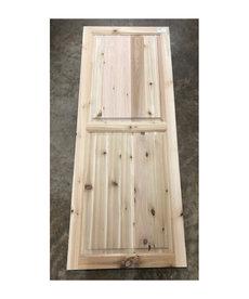 """22-1/8"""" X 56-1/4"""" Cedar Cabinet Door"""