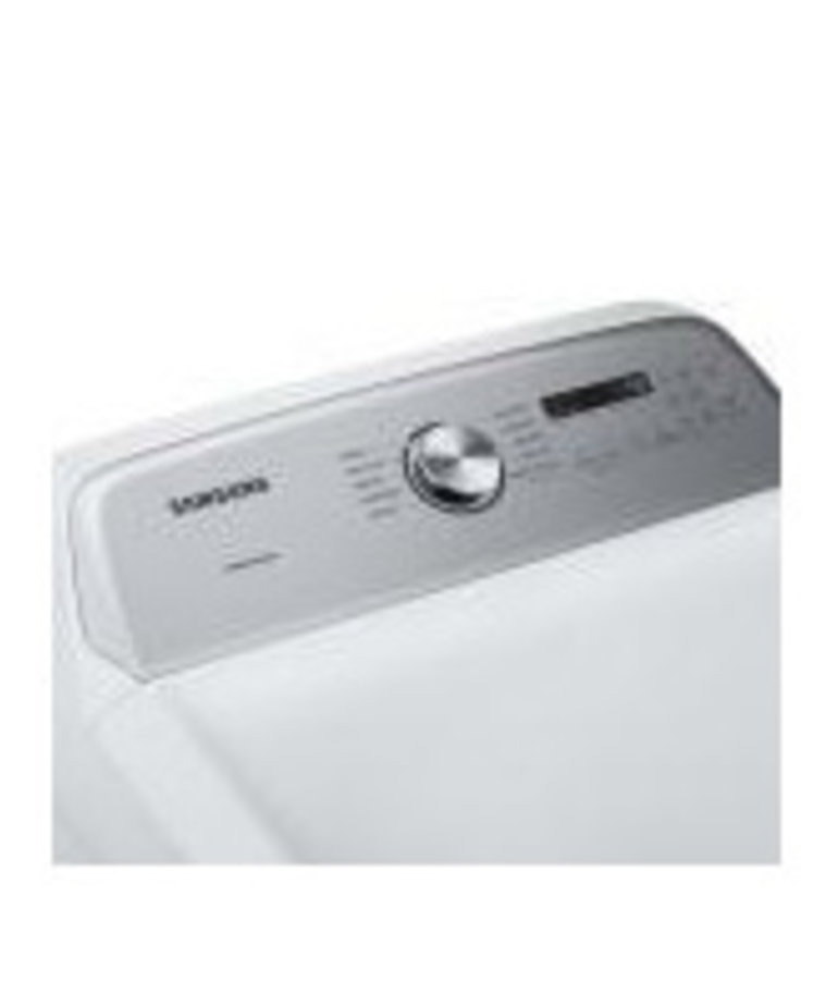 Samsung - White - 7.4 cu.ft. 13-Cycle Gas Dryer with MultiSteam