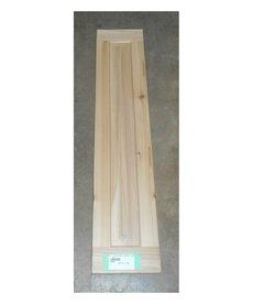 """6""""x30"""" Cedar Cabinet Door"""