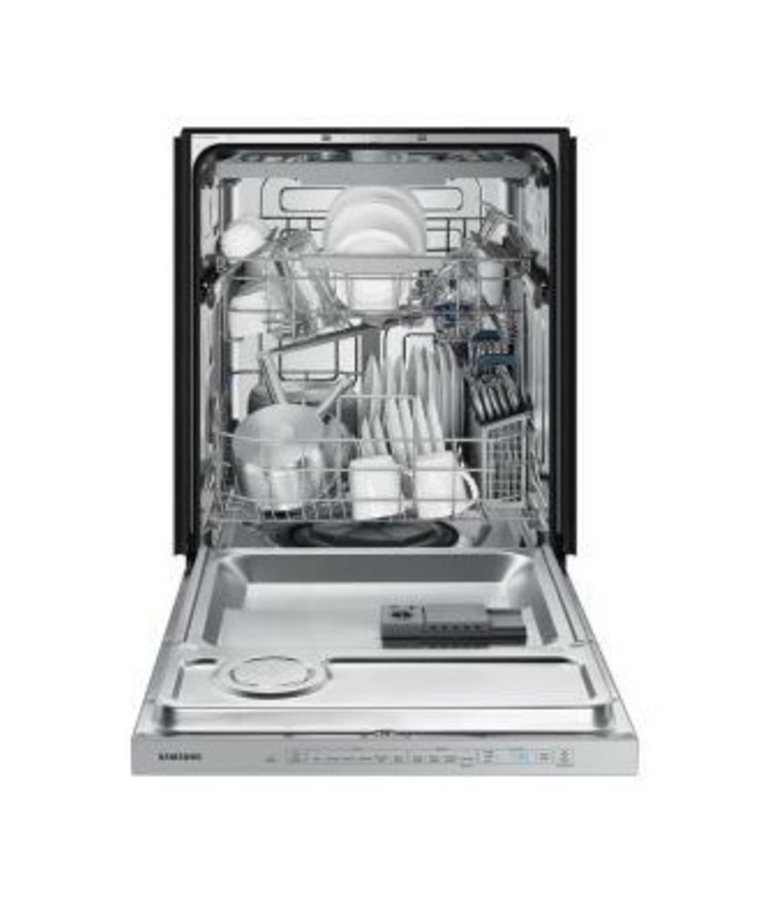 Samsung - Stainless Steel - StormWash Top Control Built-In Dishwasher