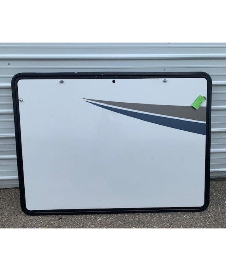 """66""""x48"""" White Baggage Door (warranty)"""