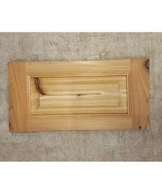 11x21 Cedar Cabinet Door
