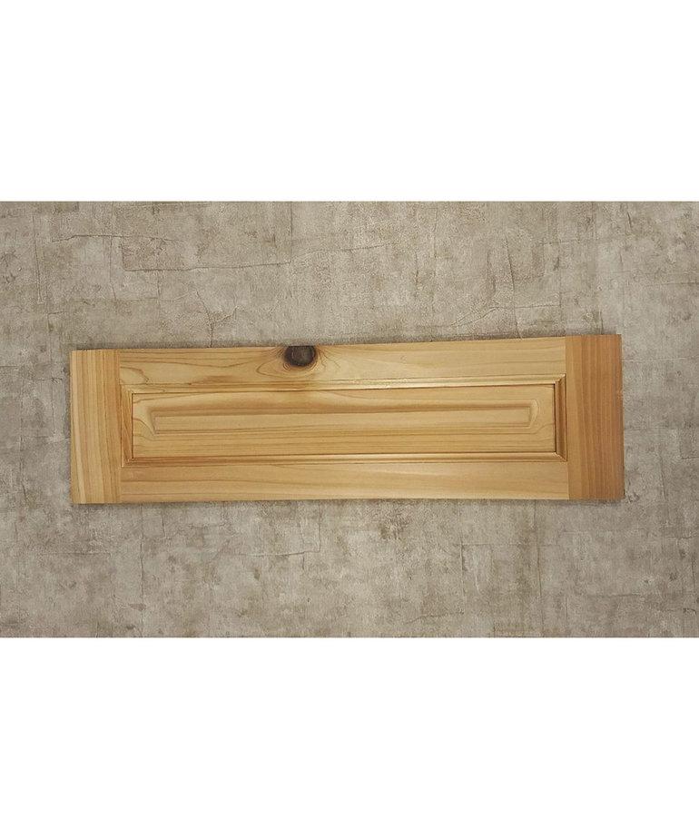 """21"""" X 6"""" Cedar Cabinet Door"""