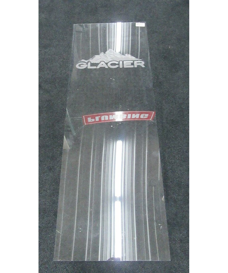 Glacier Logo Cabinet Glass