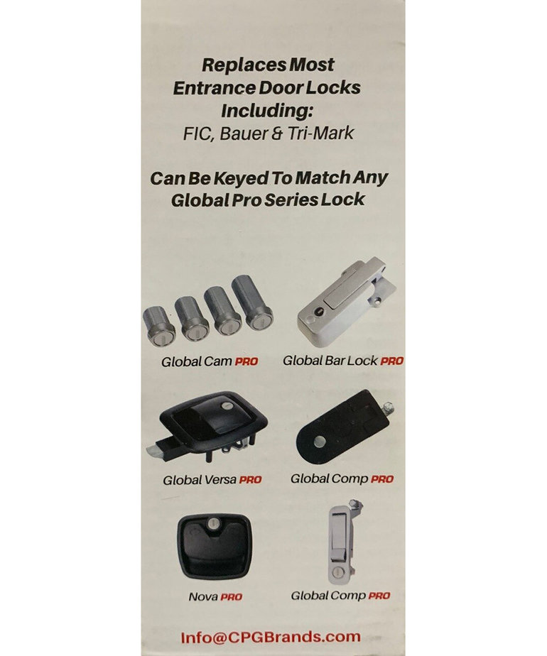 Black Global Lock