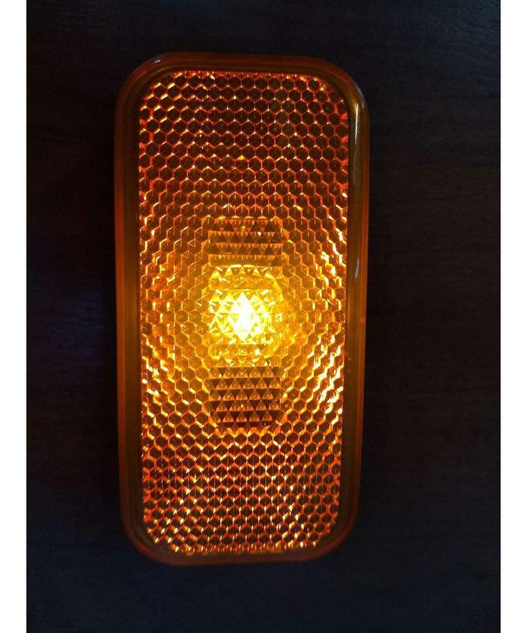Amber Light Black Base