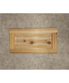 """15 1/2"""" x 7 3/4"""" Cedar Door"""