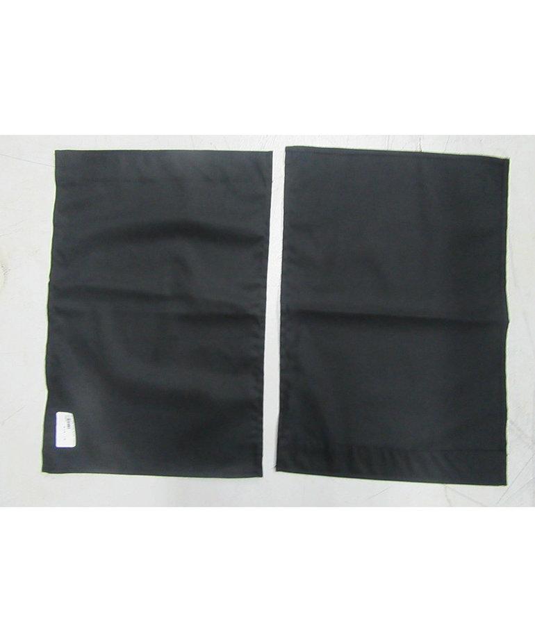 "24""W X18""H Black Curtains (SET OF 2)"