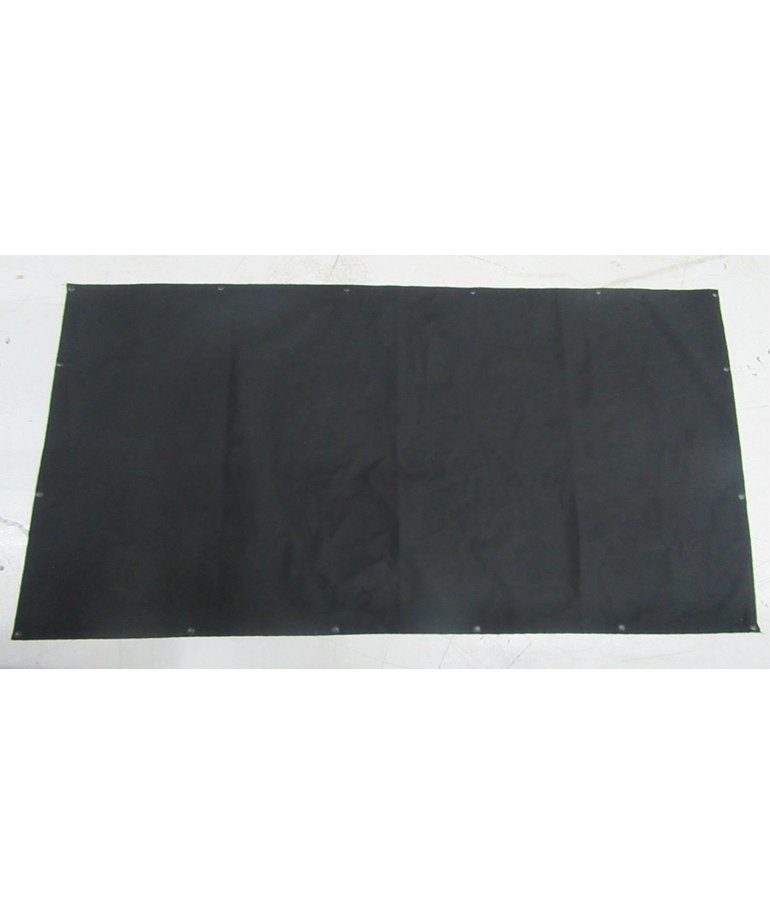 63W X32H Black Curtain with Snaps