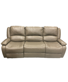 """Jaleco Cafe 84"""" Reclining Sofa with Flipdown Cupholder"""