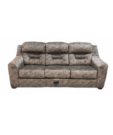 "Kaysen Mushroom 88"" Hide-A-Bed Sofa"