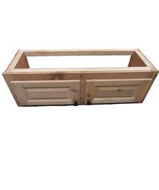 """12""""X10.75""""X35.25"""" Cedar Cabinet"""