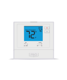 T771 Non Programmable Thermostat White