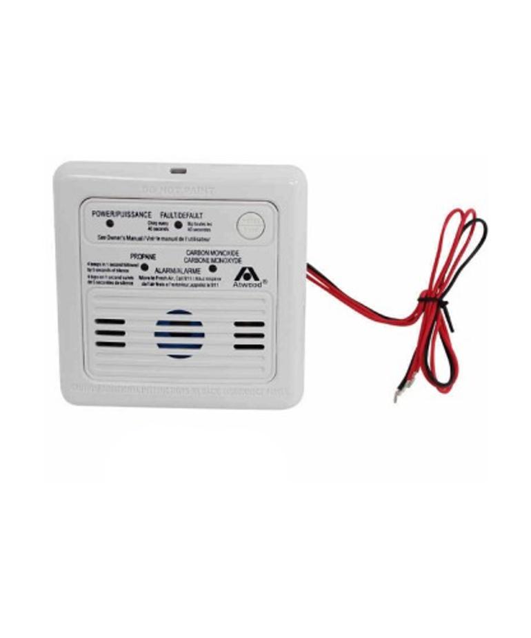 White Dometic LP/CO Alarm