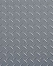 "Charcoal Rubber Diamond-Tread Flooring 8'1""/LIN. FT."