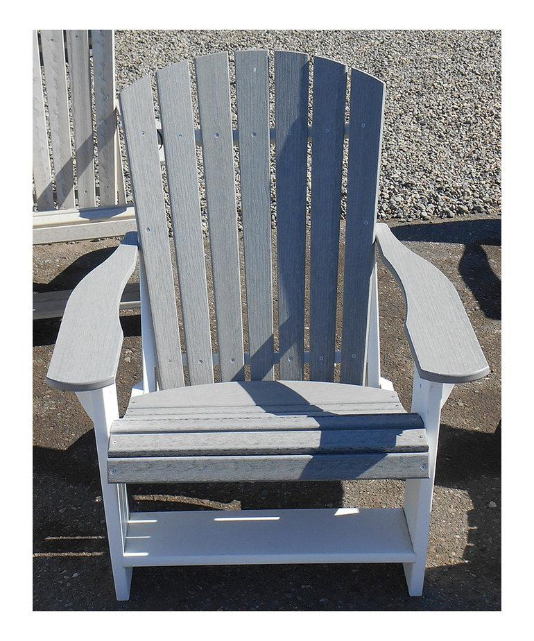 Heritage Adirondack Chair White Frame