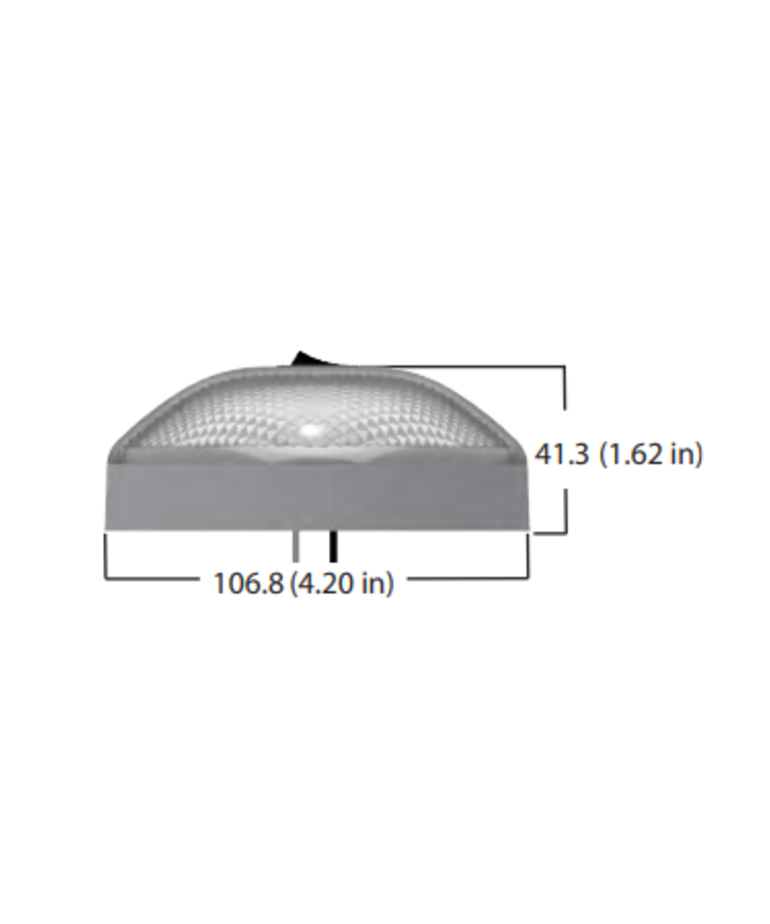 Double LED Dome Light