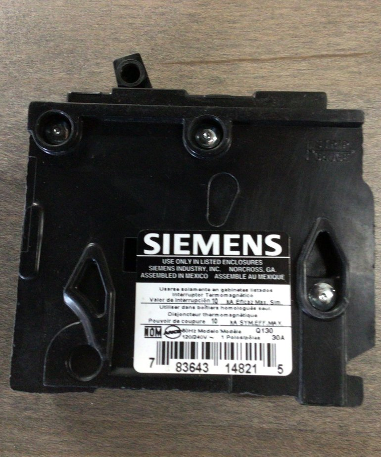 Siemen Q130 30AMP Breaker