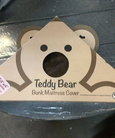 4x32x74 Teddy Bear Bunk Cover Chocolate 679299