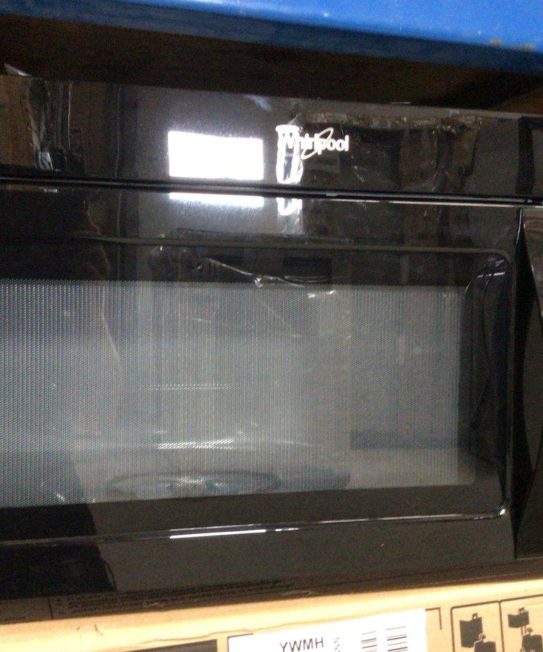Whirlpool Microwave Black