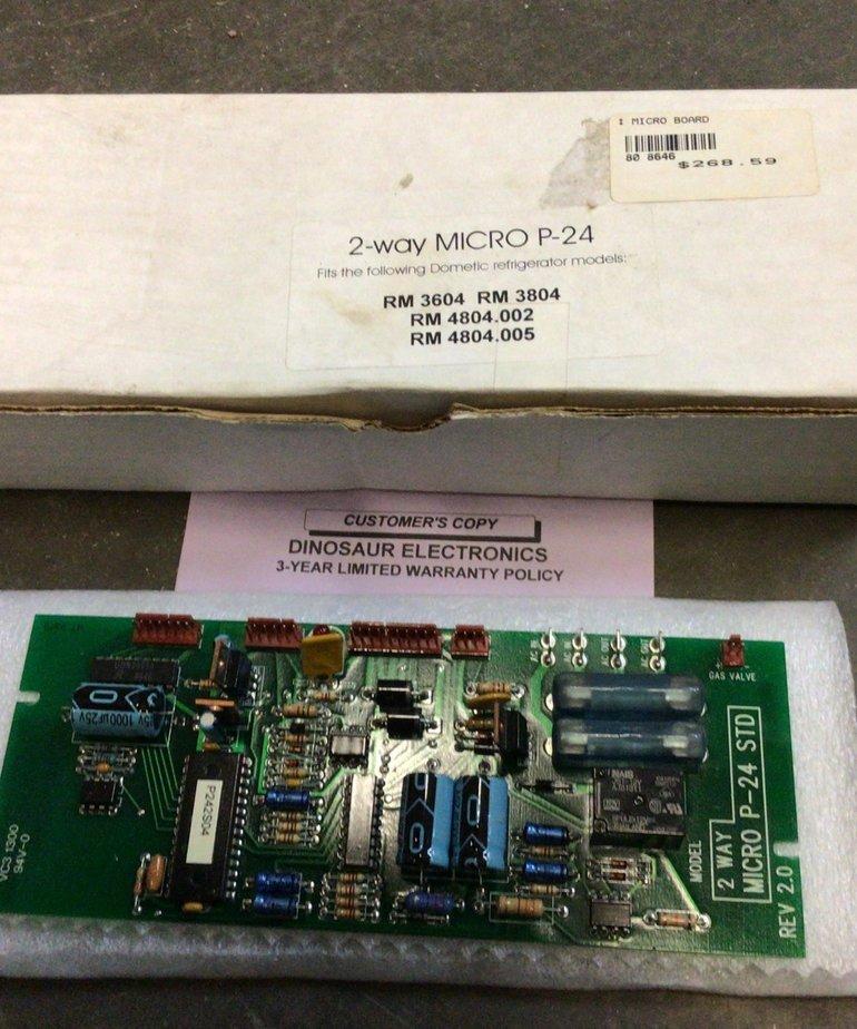 2-Way Micro P-24 Refrigerator Board