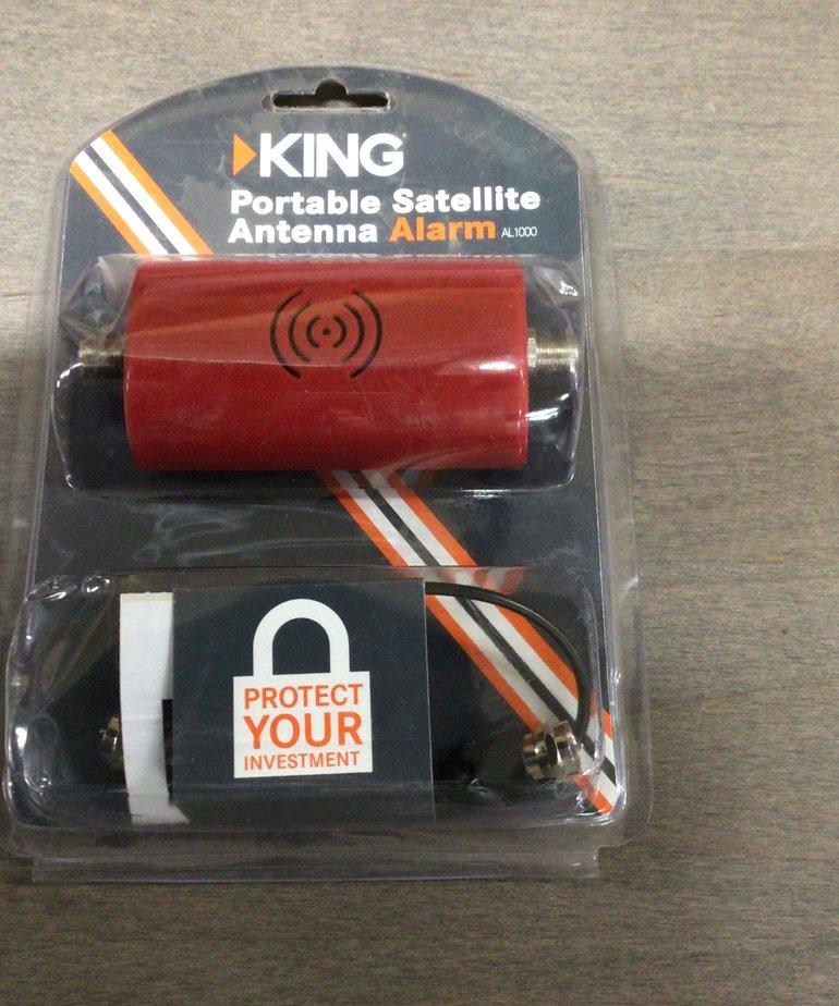 King Satellite Antenna Alarm AL 1000