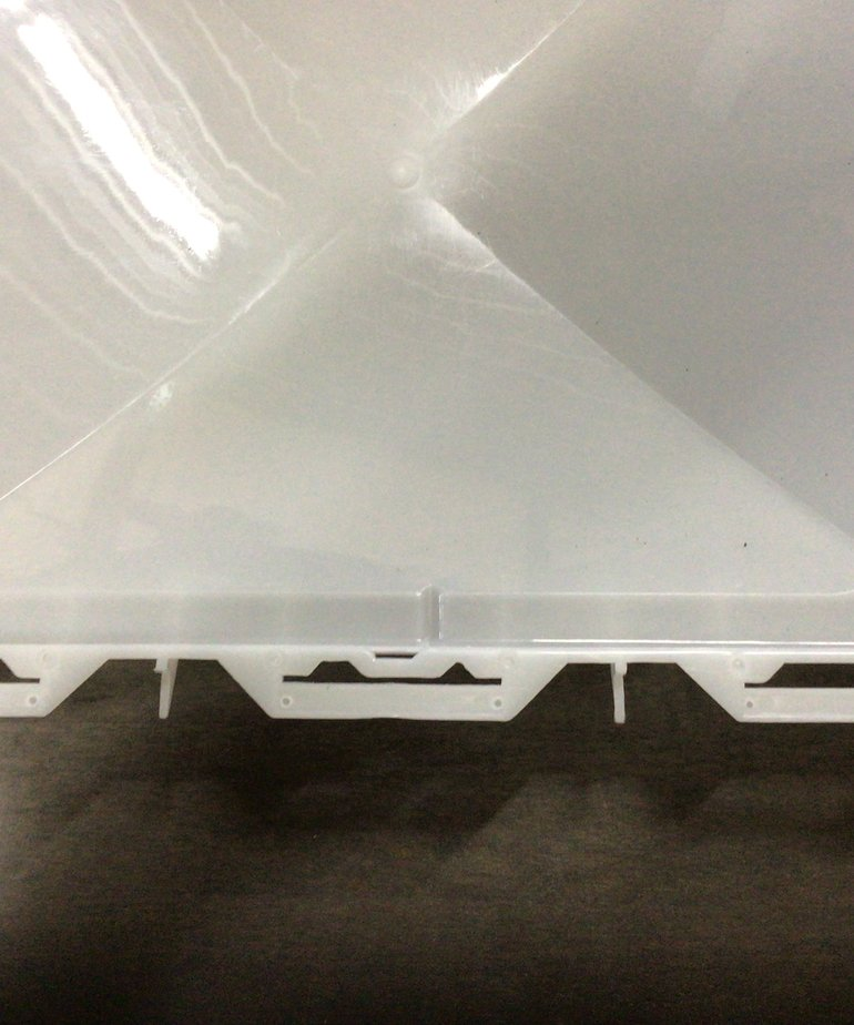 White Replacement Vent Cover Jensen J7291RWH-C