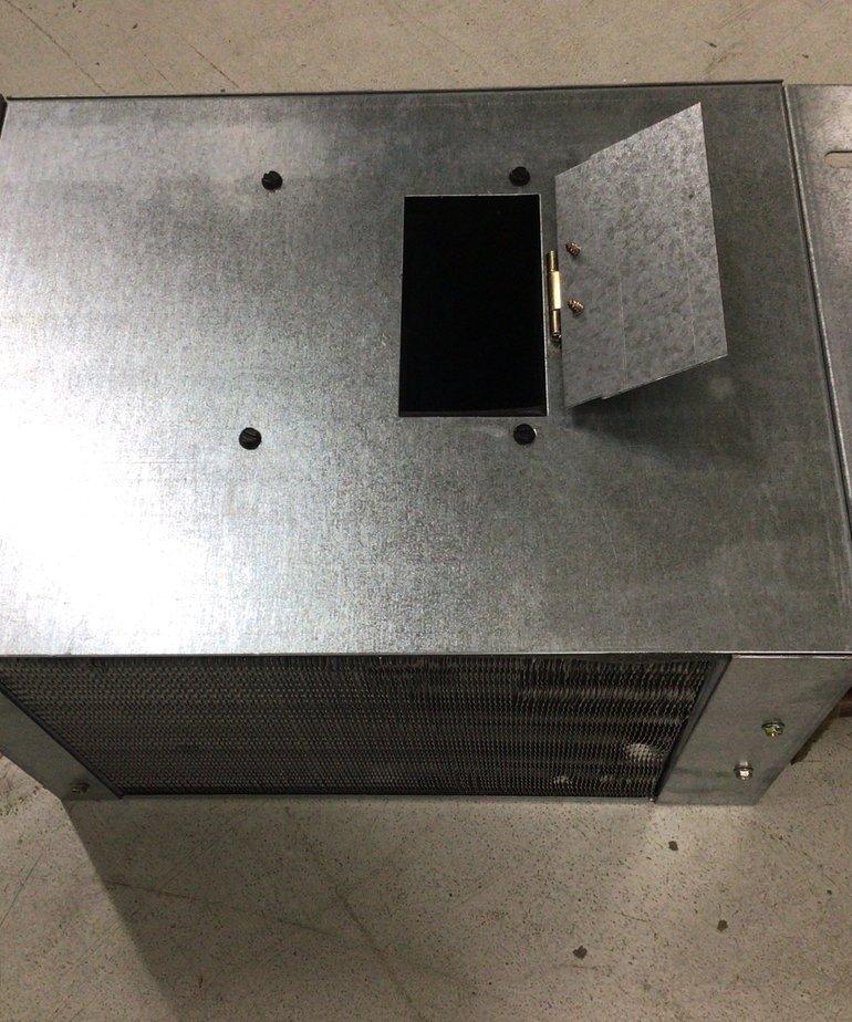 Metal Heat Exchanger with flap RV201305