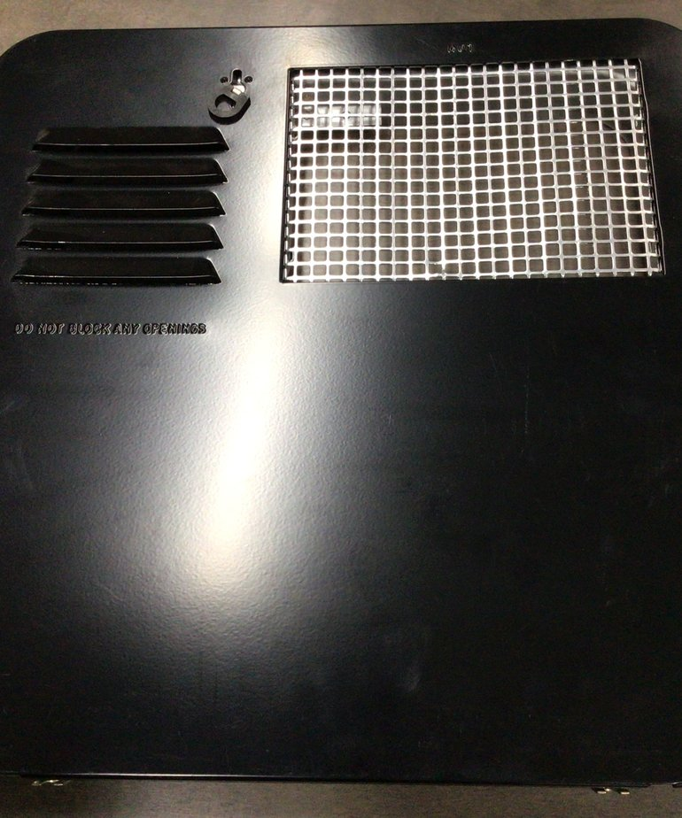 New Black Suburban Water Heater Door 6261AEB