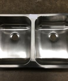 """5""""x15""""x25"""" Stainless Steel Sink"""