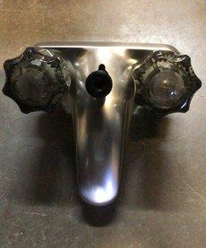 "4"" Brushed Nickel Lav diverted Faucet U-YCJW73N"