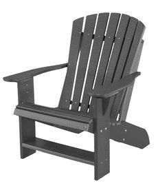 Heritage Adirondack Chair Dark Gray