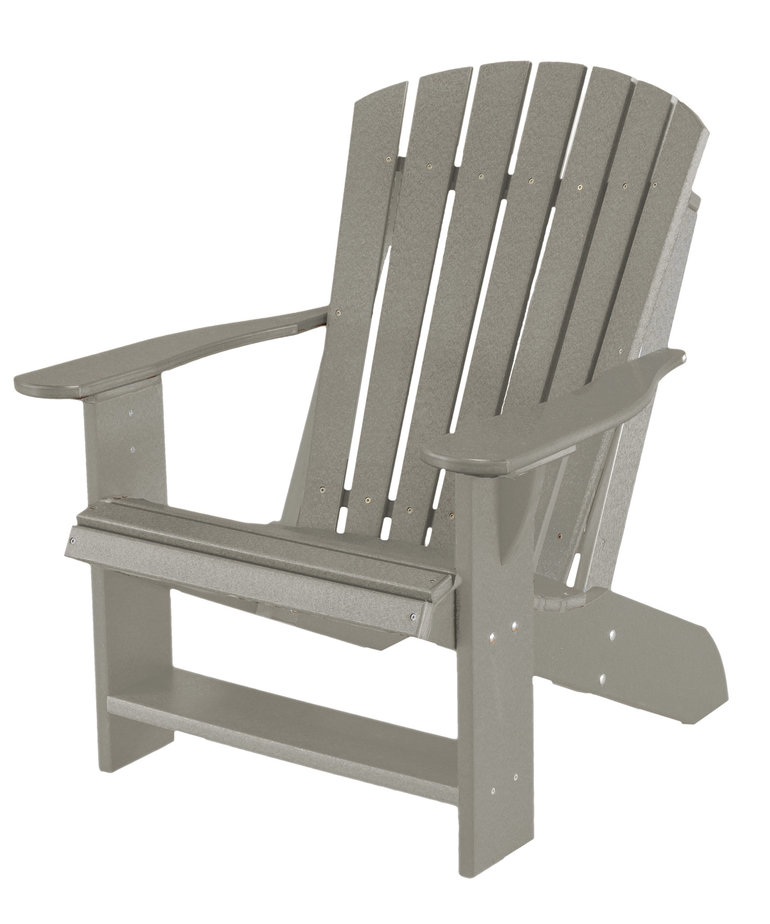 Heritage Adirondack Chair Light Gray