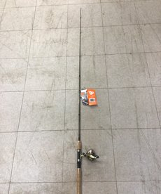 Micro Light Underspin Combo Fishing Rod and Reel
