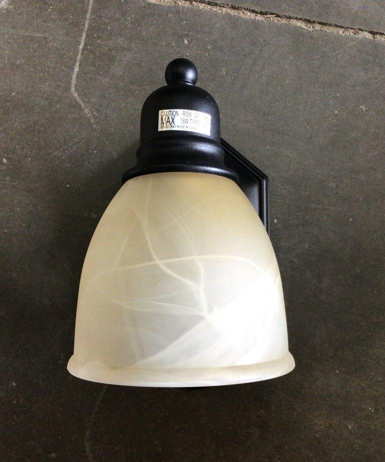 Astral 1-Lt Wall Sconce Light with LEB Bulbs 12V