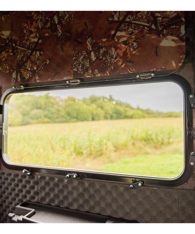 """34""""x14"""" Stump Framed Gunner Window"""