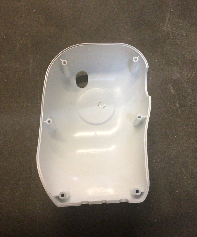 Lippert Components 1009.1315 289557 Solera Power & Manual Awning Drive Head Front Cover, White