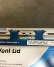 Camco 40153 - RV Trailer Camper Hardware Vent Lid White-New Jensen Metal Camco RV