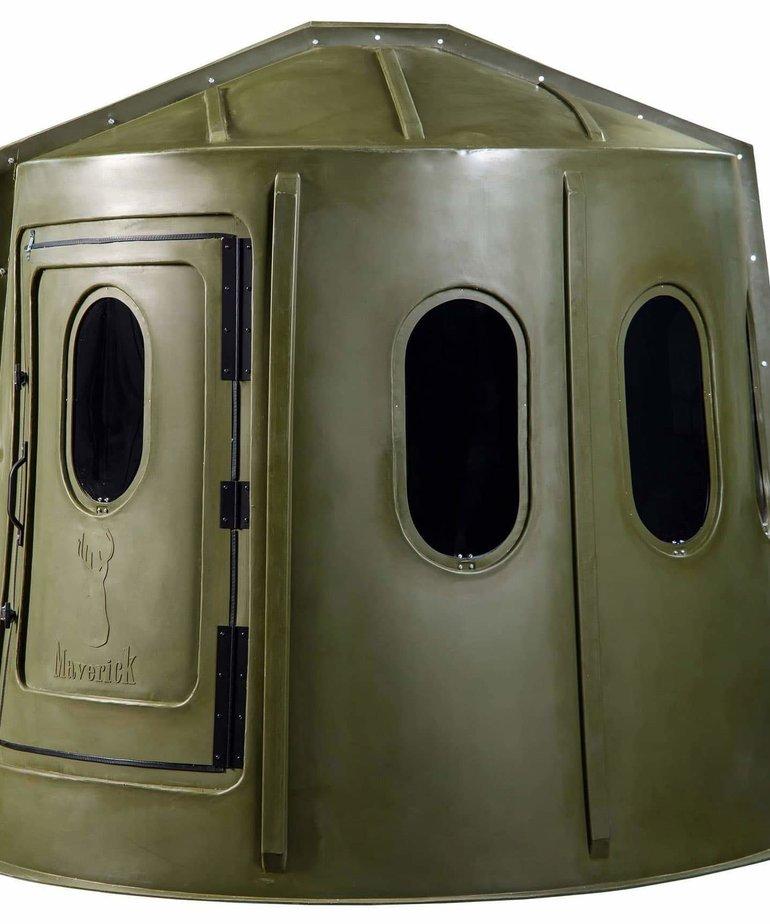 Maverick Green 6-Shooter Blind Tinted Window