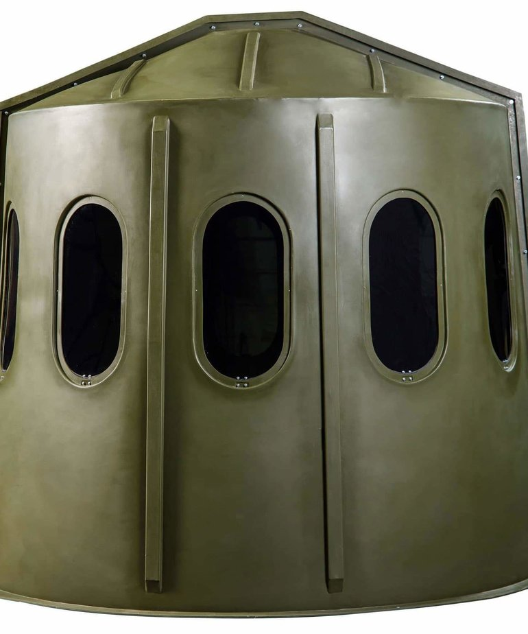 Maverick Green 6-Shooter Blind Clear Window