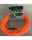 75' Orange Rattle Reel Line