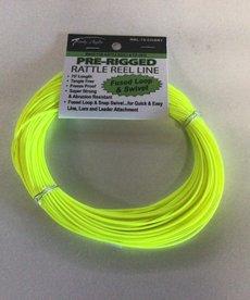 75' Yellow Rattle Reel Line