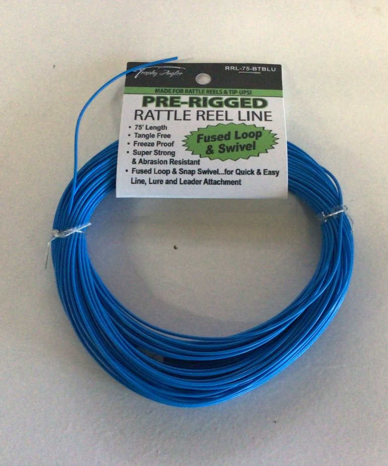 75' Blue Rattle Reel Line