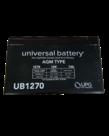 12V 7AH Universal Battery AGM Type