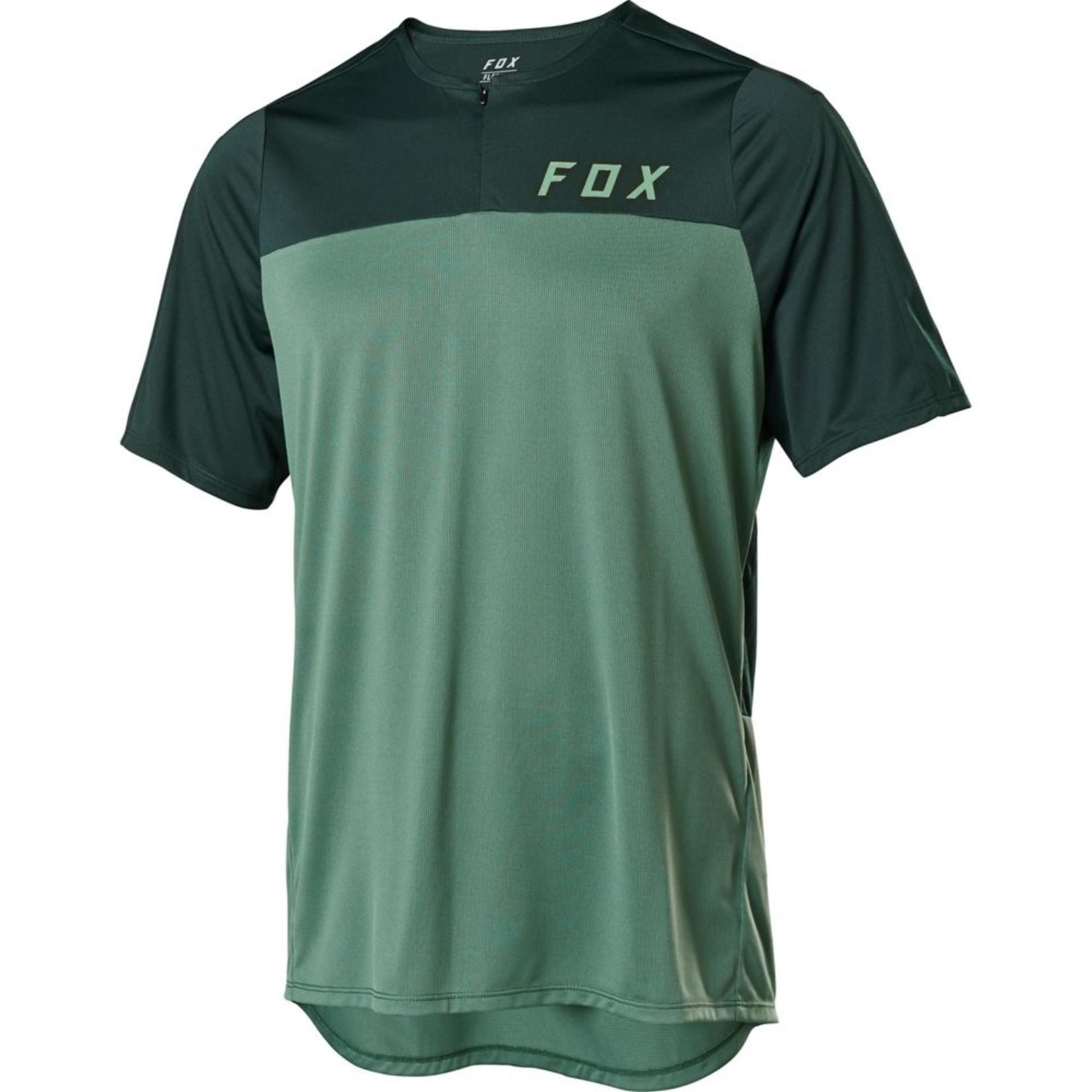 Fox Flexair Zip SS Jersey
